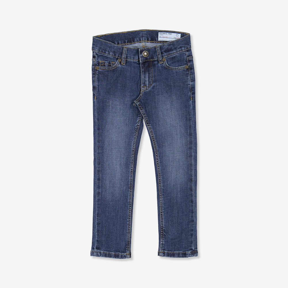 Jeans super slim stretch blå