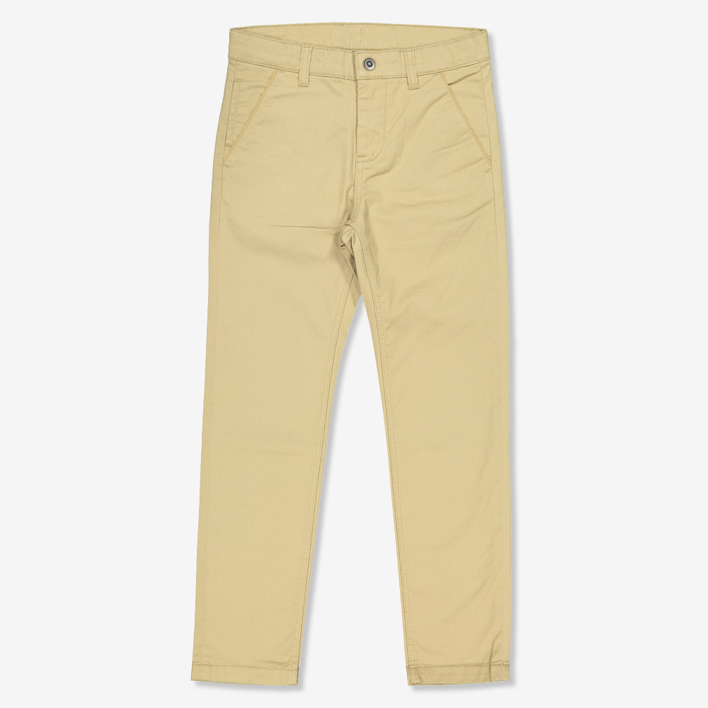 Chinos regular lysebrun