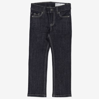 Jeans regular mørkblå