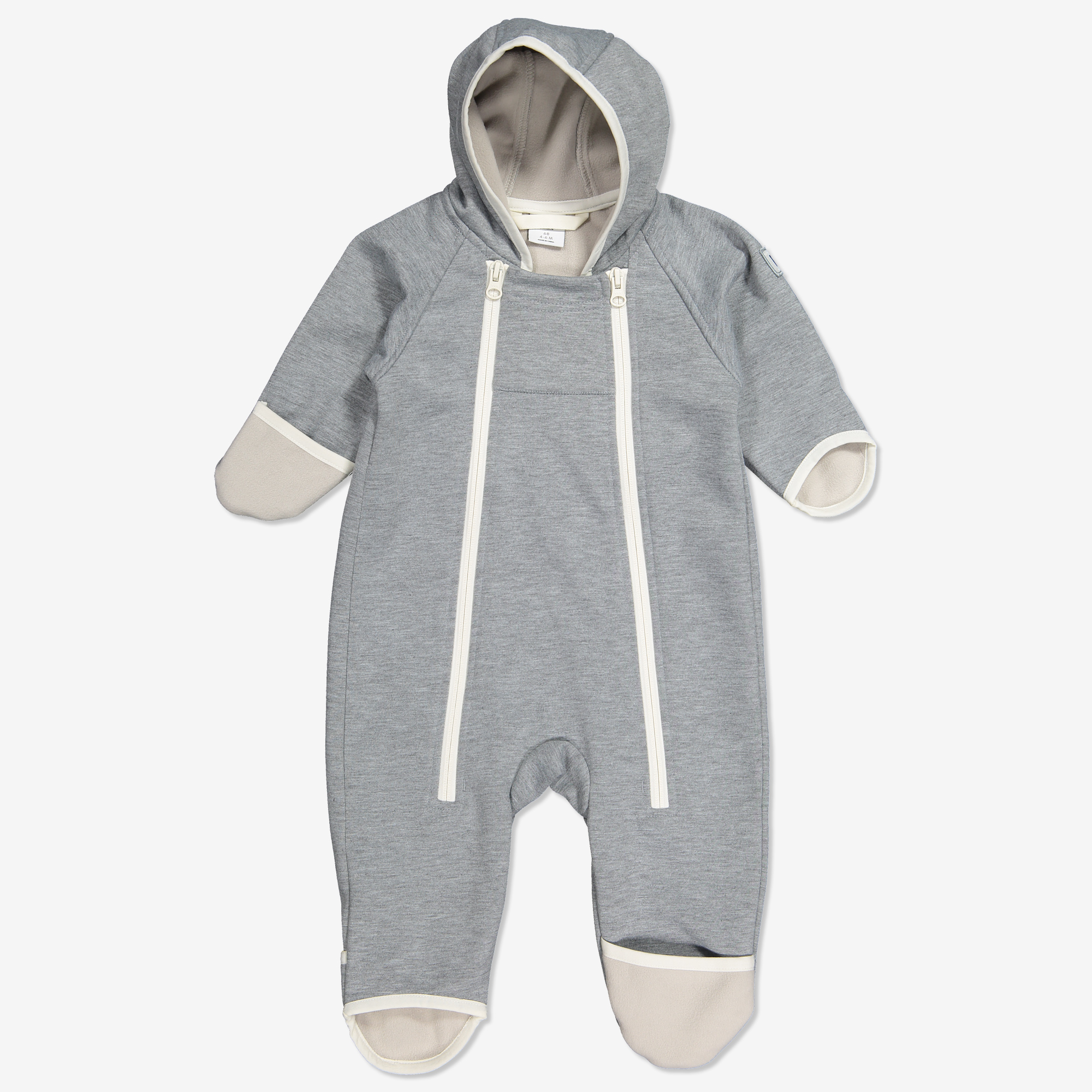 Dress softshell baby gråmelange