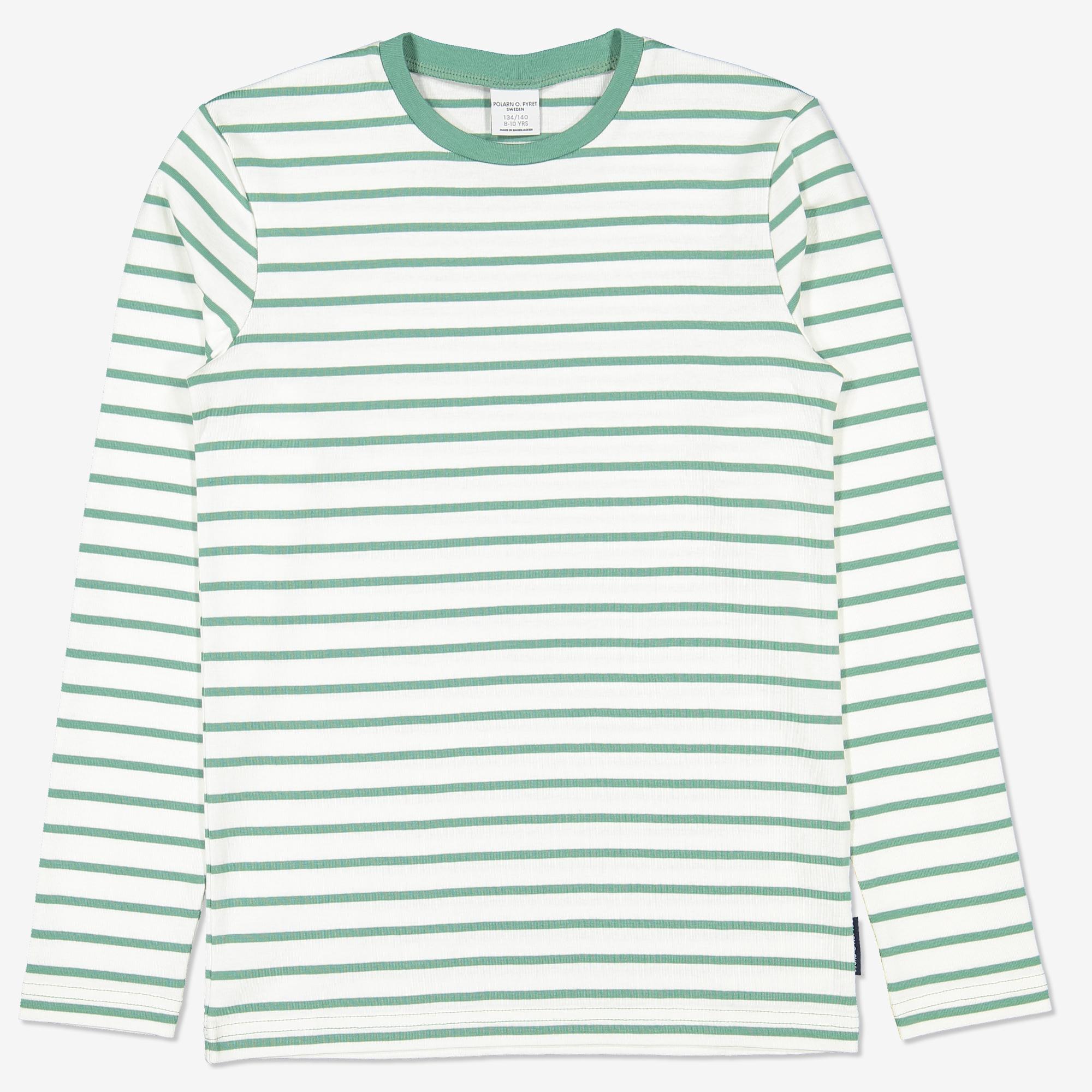 312c0475 Stripet genser grønn | Polarnopyret.no