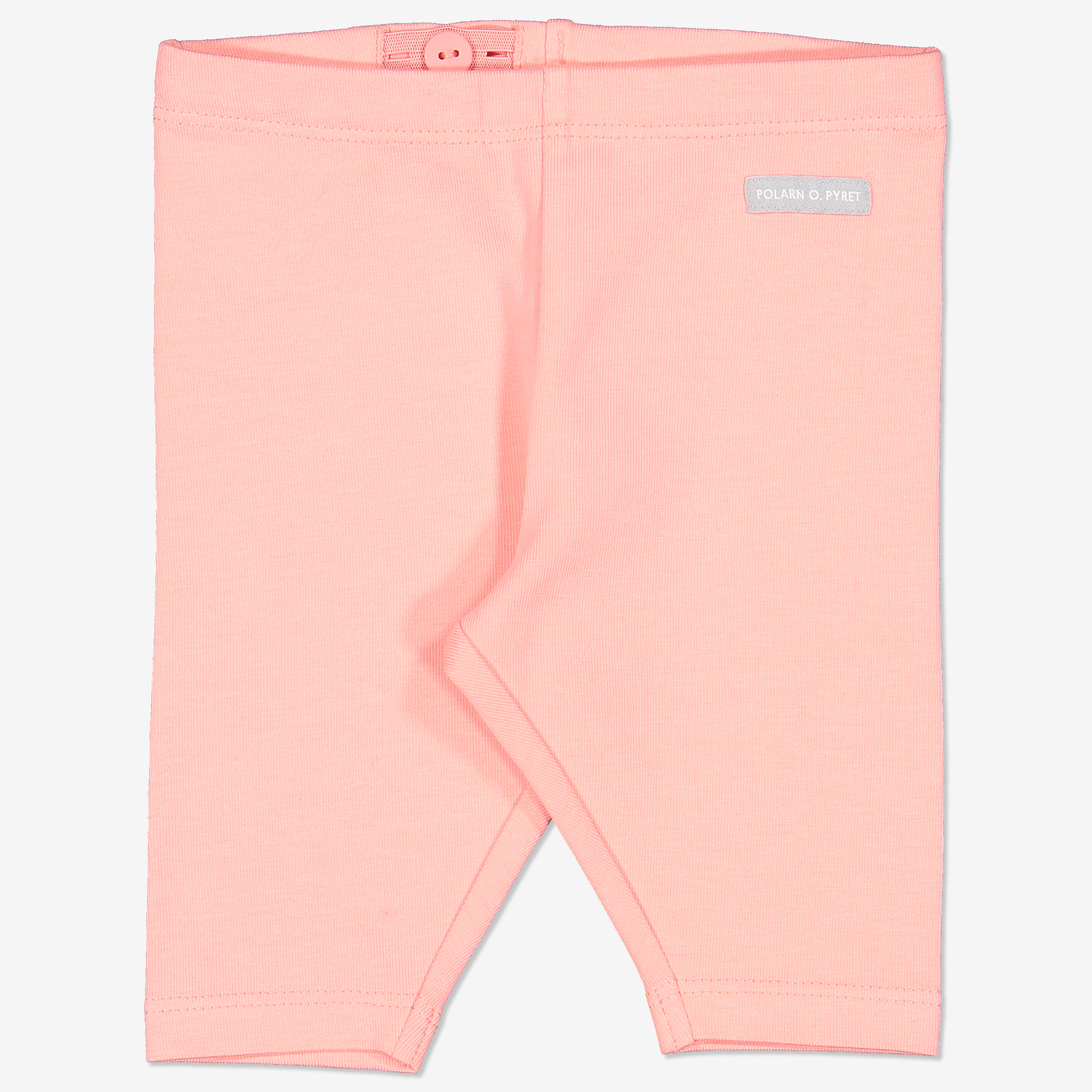 Kort tights baby laksrosa