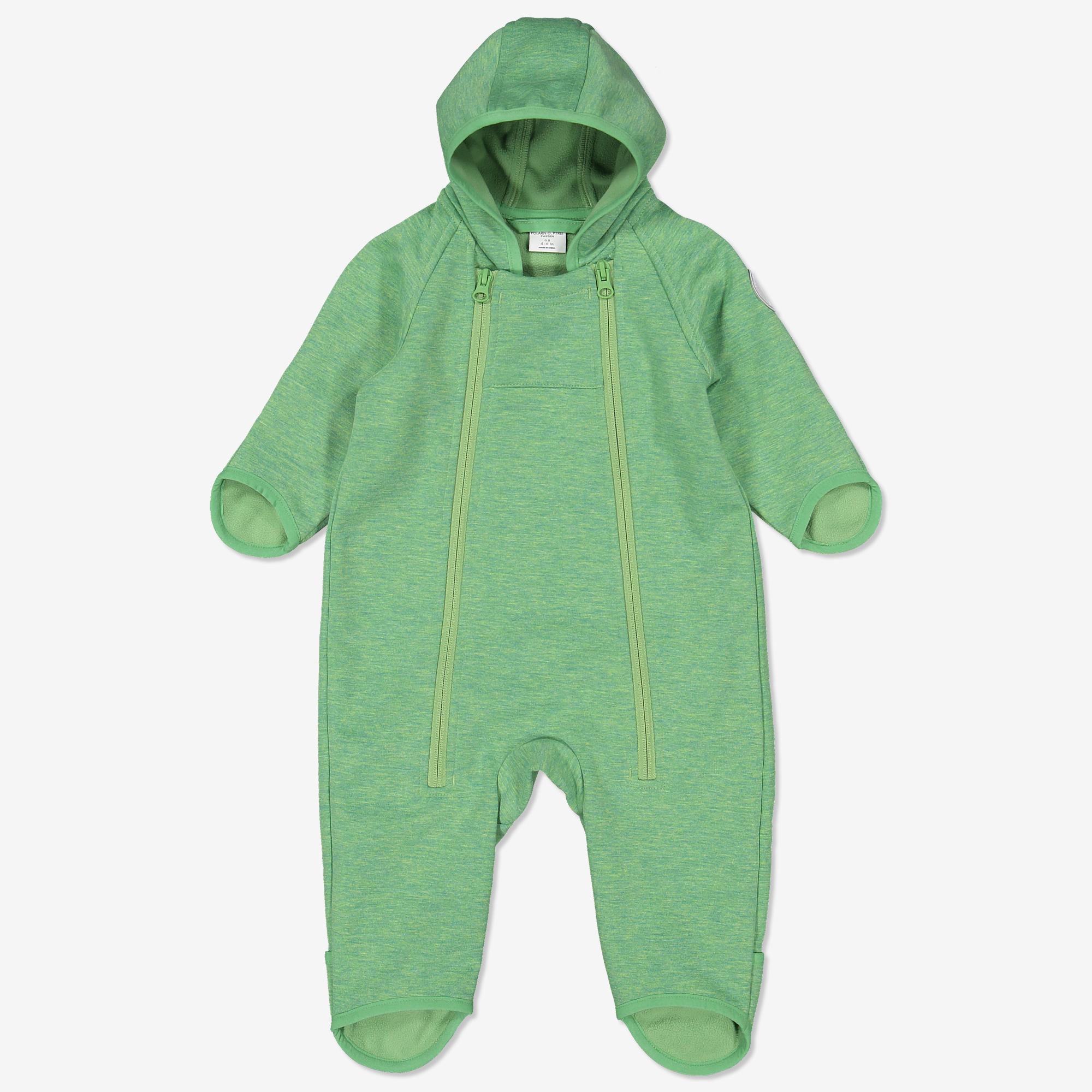 e3cf8b8e699 Dress softshell baby grønn | Polarnopyret.no