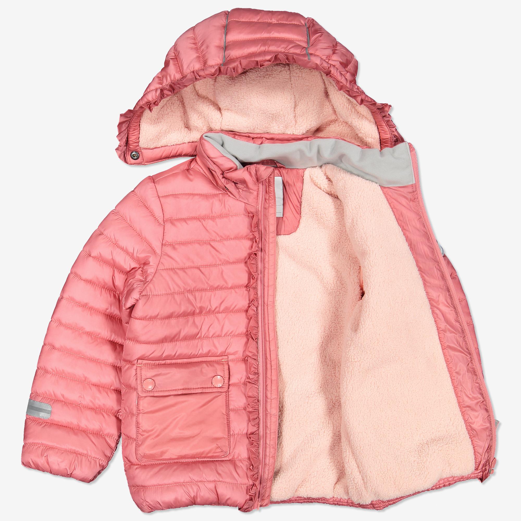d61322128 Lett jakke med volang rosa | Polarnopyret.no