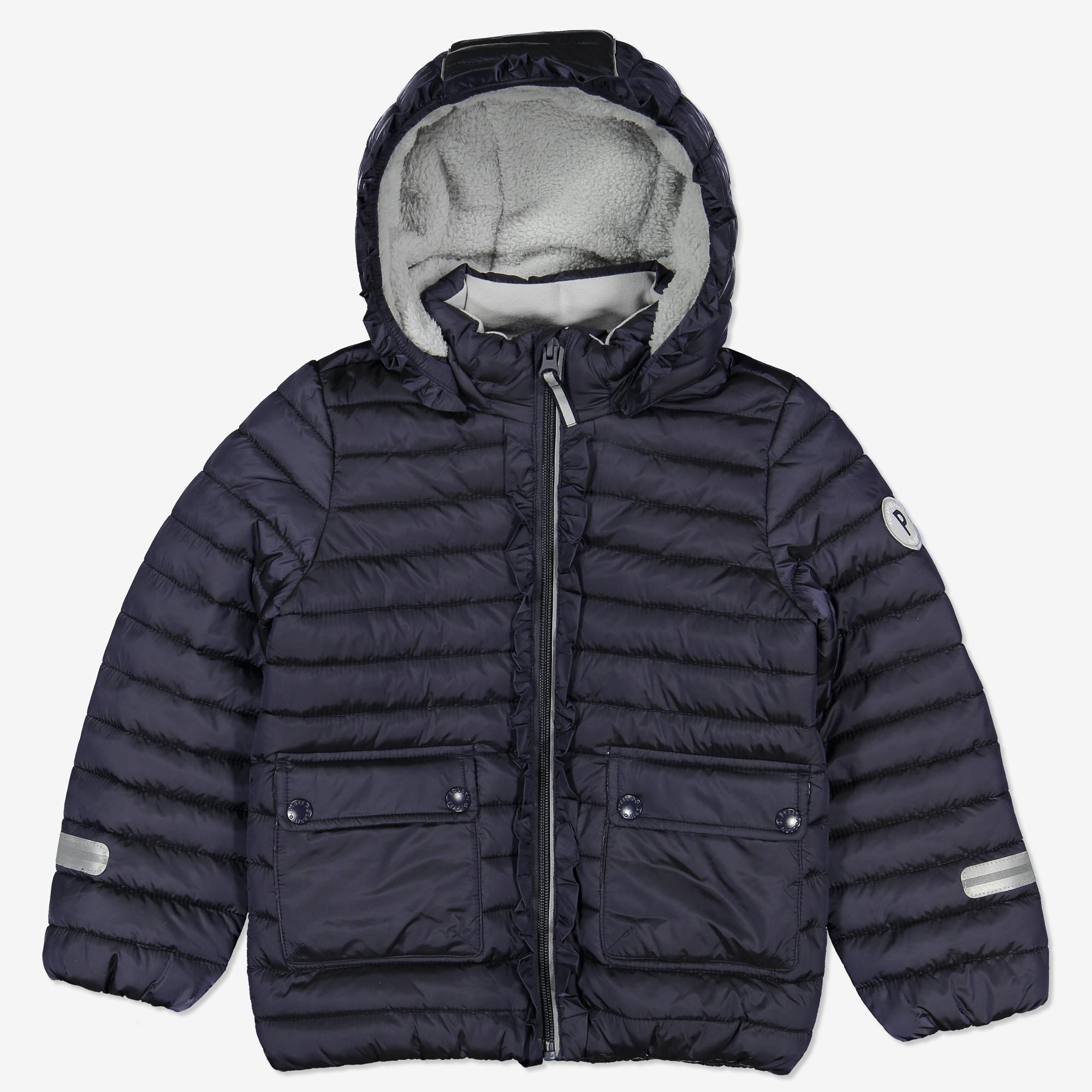 79ac47f31 Lett jakke med volang blå | Polarnopyret.no