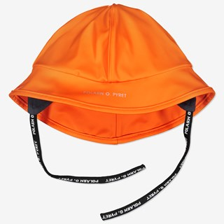 Regnhatt/sydvest baby orange