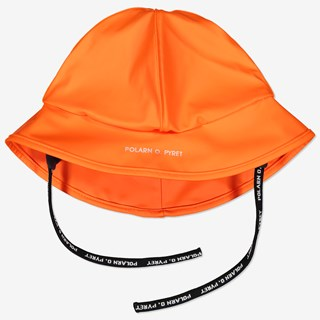 Regnhatt/sydvest orange