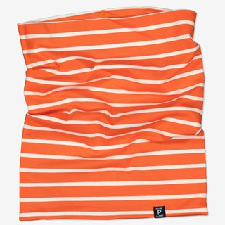 Stripet tubeskjerf orange