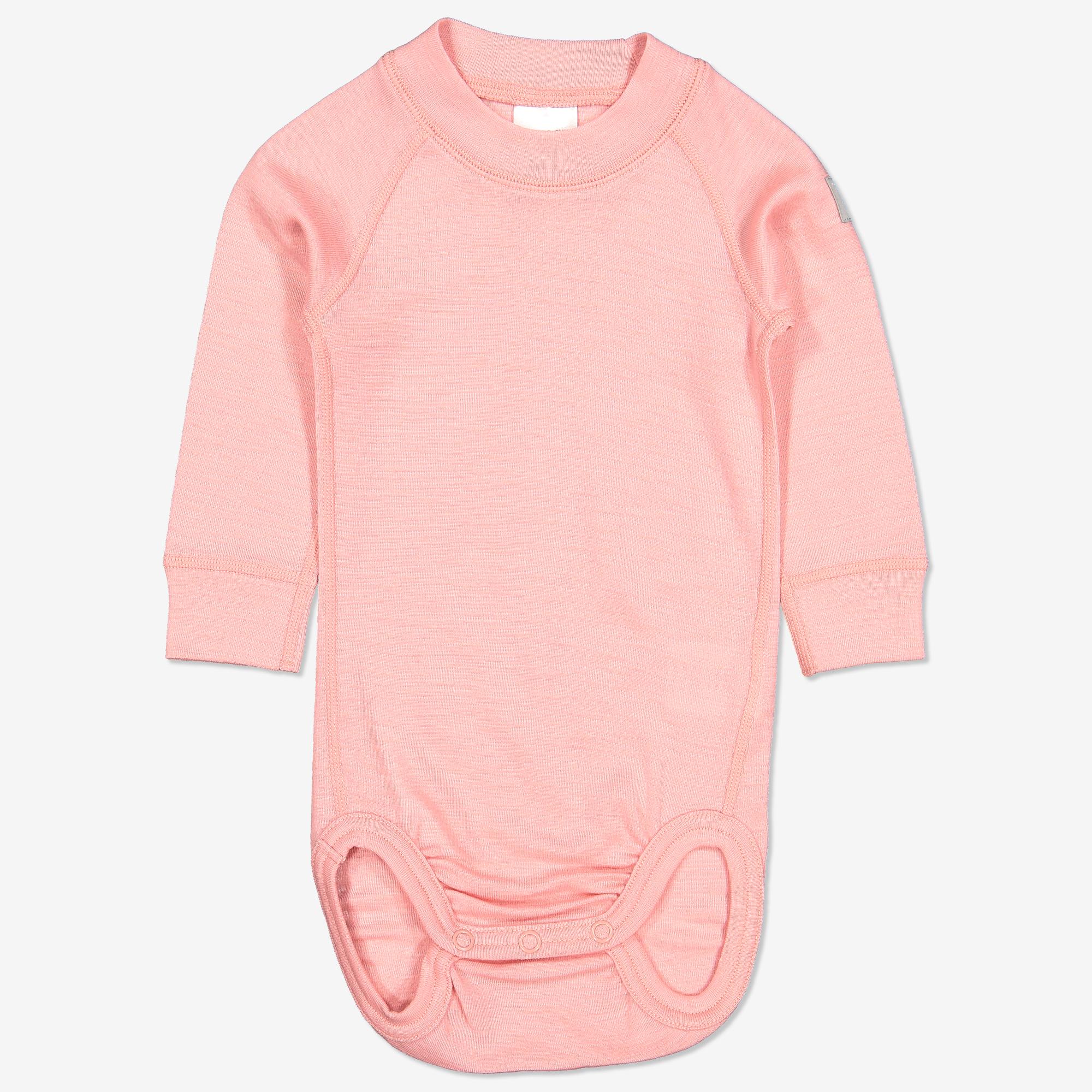 Merinoull bukse baby rosa | Polarnopyret.no